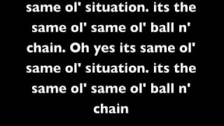 Same Old Situation with lyrics