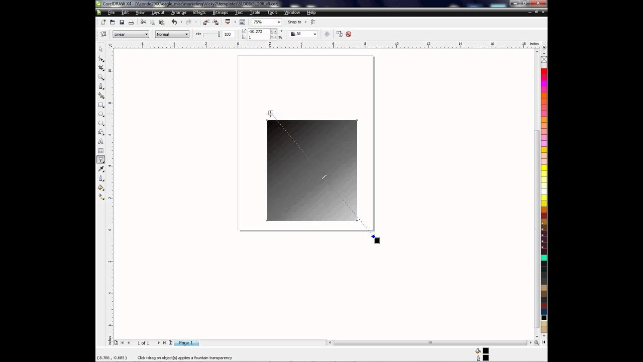 Using the Transparency Tool in CorelDRAW ~ A Tutorial -