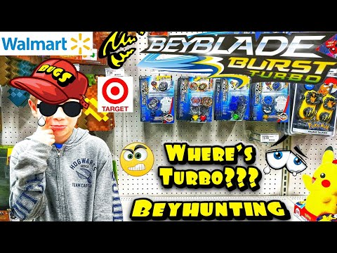 Let's Go! Beyblade Burst Turbo Toy Hunting at Target
