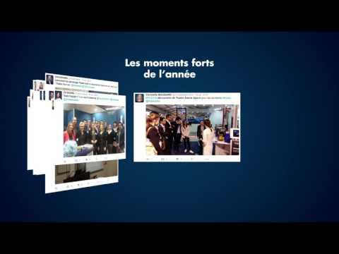 2016, une année placée sous le signe des réseaux sociaux pour Thales