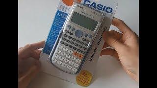 Casio fx-570ES Plus calculator unboxing