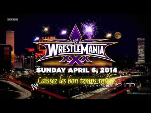 WWE Wrestlemania 30 (XXX) 1st Official Theme Song - ''Celebrate'' With Download Link