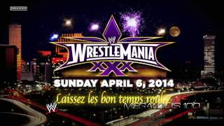 WWE Wrestlemania 30 (XXX) 1st Official Theme Song -