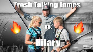 "13yr old ""Trash Talking"" James vs Hilary - Revenge!"