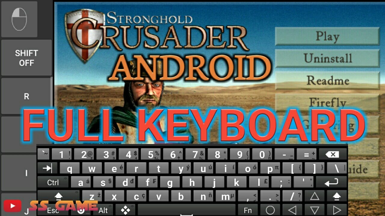 Cara Agar Exagear Full Keyboard Saat Bermain Stronghold Crusader Android C C Red Alert 2 Aoe Dll Youtube