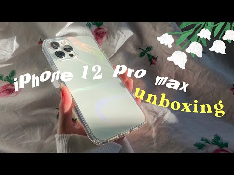 Unboxing????iphone 12 Pro Max + Cute Accessories????????
