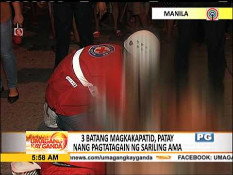 3 kids killed by own father in Manila