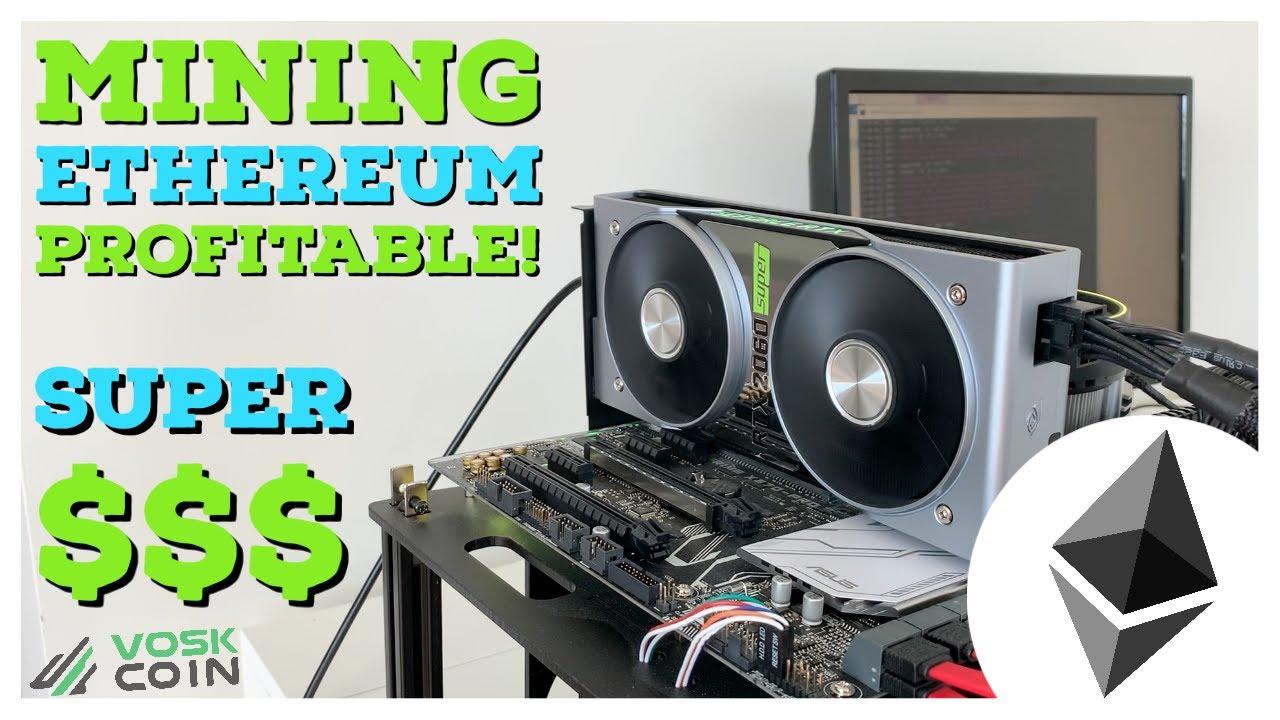 Ethereum Mining profitabel
