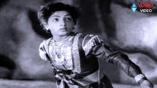 Bala Nagamma Climax Scene - NTR, SVR, Anjali Devi - Volga Video