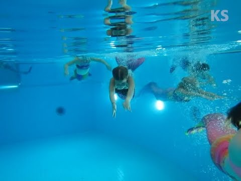 Merenneitoilua uimahalli Kuohussa