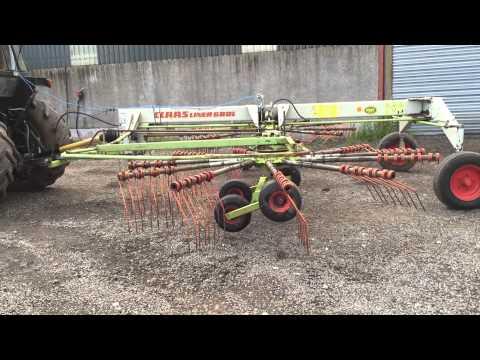 Claas Liner 680L twin rotor rake