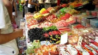 Tel Aviv Candy stall.AVI