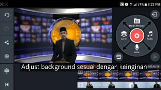 Toturial cara tukar background Video (Android) (Bahasa Malaysia)