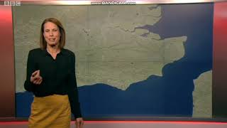 Nina Ridge South East Today weather presenter