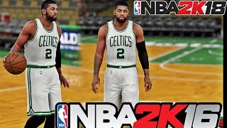NBA 2K18 16 - Kyrie Irving To The Celtics   Practice   1st Game as a Celtic
