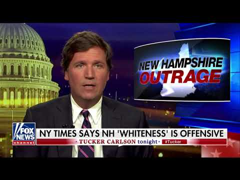 Tucker Rips NYT Story Commenting on New Hampshire Being '94 Percent White'