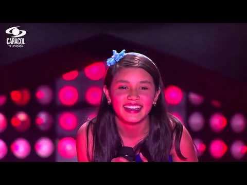 Derly cantó 'Hasta el fin del mundo' de Jennifer Peña - LVK Colombia- Audiciones a ciegas - T1