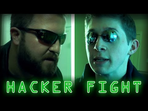 Hack The Planet! Hollywood Hacking Cliches Get Lampooned In 'Hacker Fight'
