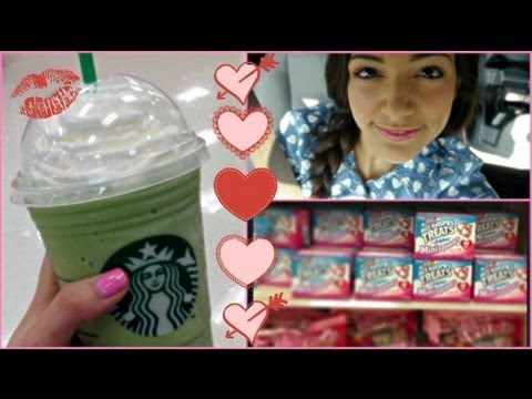 Valentine S Day Vlogging Target Starbucks Youtube