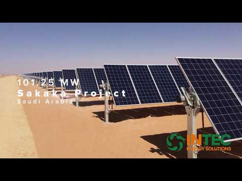 Sakaka Solar Power Plant 101.25 MW Project