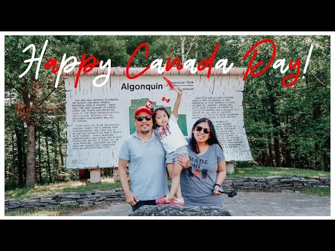 Roadtrip To Lake Of Two Rivers In Algonquin Provincial Park On Canada Day 2020 || Followtheblancos