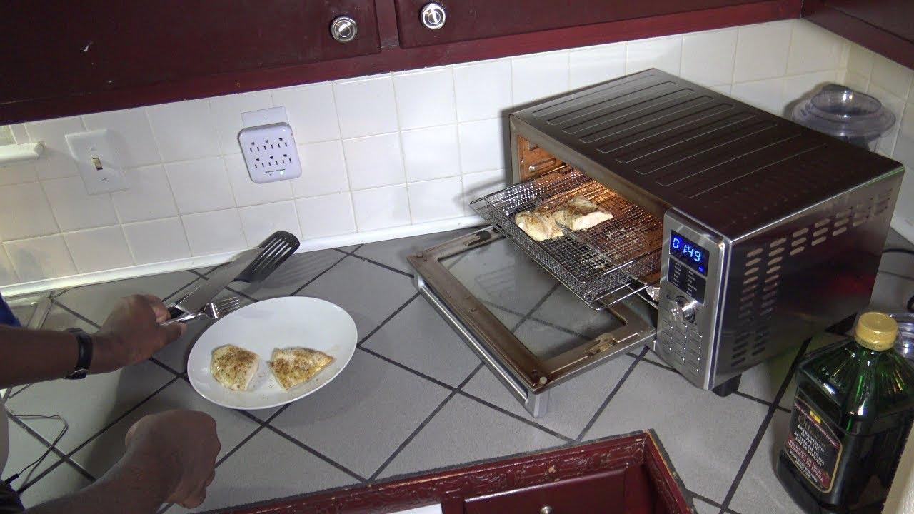 Frozen Chicken Breast Smart Oven Air Fryer Recipe Nuwave