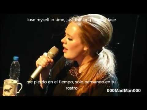 Adele- one and only subtitulos (ingles y español)