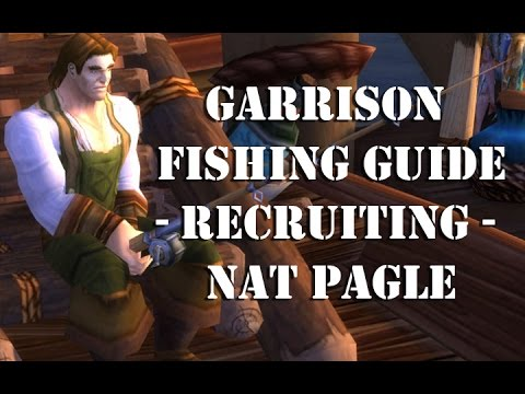Garrison Fishing Guide - How To Get Nat Pagle As A Follower