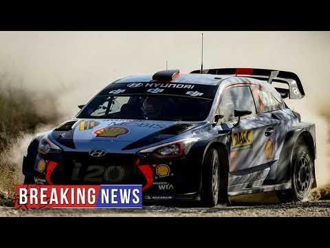 HOT NEWS Neuville-Tanak battle grips Rally Australia | Daily Mail Online