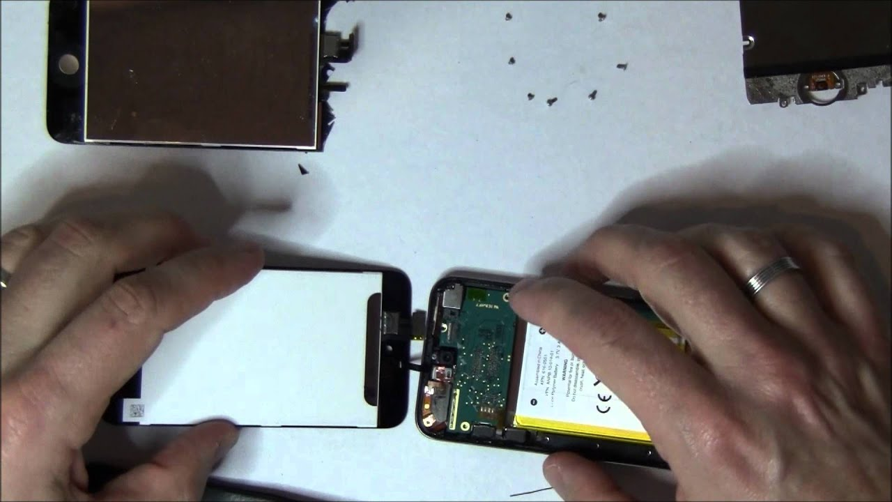 ipod touch 4 screen digitizer lcd fix disassemble repair youtube rh youtube com iPod Touch Cases iPod Touch 1st Generation
