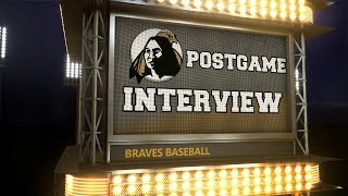 Braves Baseball Postgame Interview: LMU, NCAA SE Regional