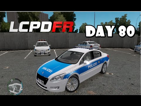GTA IV : LCPDFR - German Police Patrol ( Polizei)