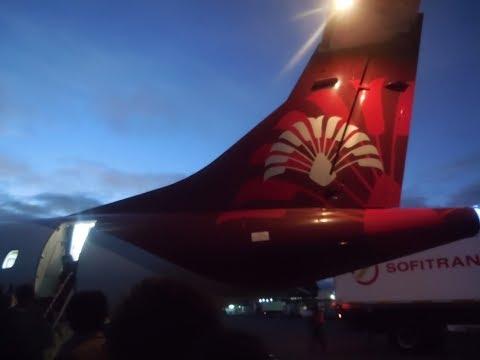 Air Madagascar ATR 42-72 Antananarivo-Diego Suarez