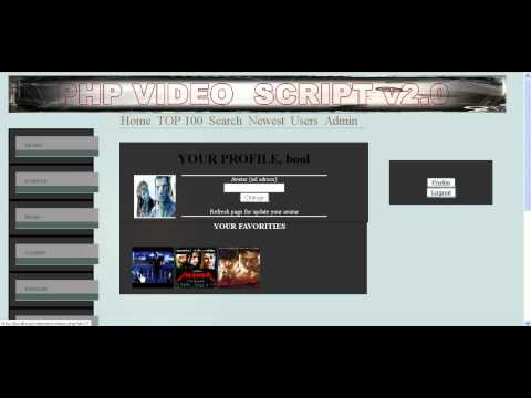PHP Videos & Movies Script v2.0