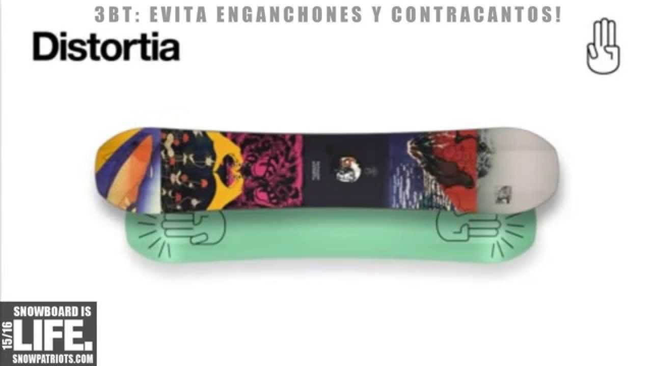 c3ec60fa7af9 Bataleon Distortia 2016 ➨ Tablas de Snowboard - YouTube
