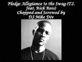 Download Pledge Allegiance to the Swag (Chopped and Screwed).wmv MP3 song and Music Video