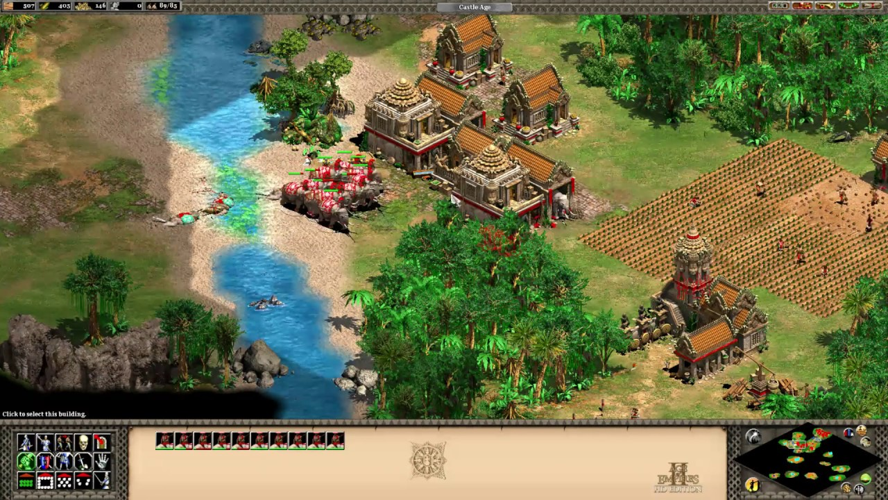 """AoE2 HD - Rise of the Rajas Campaigns - """"The Story of Our Founders"""".  T90Official - Age Of Empires 2"""