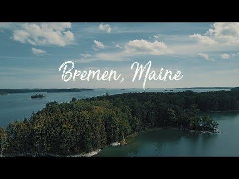 MAVIC PRO MAIDEN VOYAGE // BREMEN, MAINE // DRONE FOOTAGE IN 4K