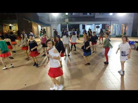 Peligrosa—Christmas Line Dance Party 9 Dec 2017 @ Tampines Changkat Zone 4 RC