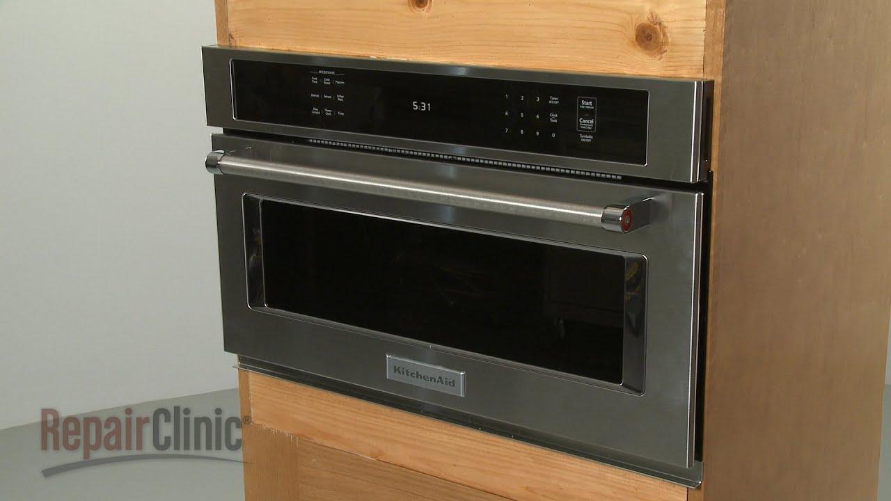 kitchenaid microwave oven installation model kmbp100ess