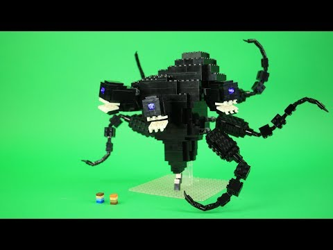 How to Build LEGO The Wither Storm | Custom LEGO Minecraft