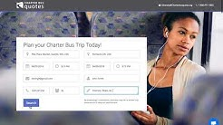 Charter Bus Quotes- The easiest way to book your trip!
