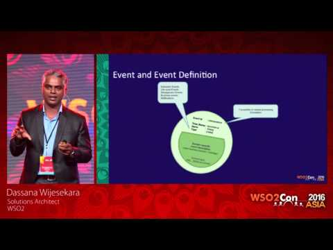 WSO2Con Asia 2016 - Event Driven Architecture: Managing Business Dynamics for Adaptive Enterprise