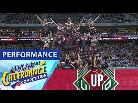 UAAP CDC Season 81: UP Pep Squad | Full Performance