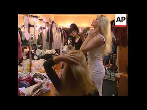 RUSSIA: MOSCOW: AMERICAN STRIPTEASE DANCERS