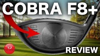 NEW COBRA F8+ DRIVER REVIEW - RICK SHIELS