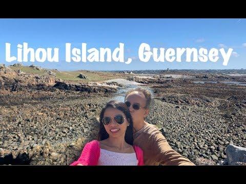Exploring Lihou Island, Guernsey.
