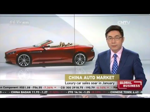 China Auto Market: Luxury car sales soar in January