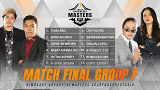 [2020] Free Fire Indonesia Masters 2020 Spring | Final Group F