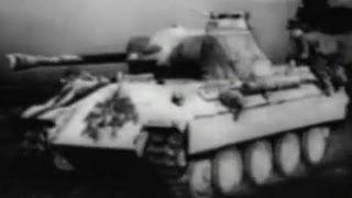 ナチスドイツ 戦車兵訓練映像 貴重 パンター戦車使用
